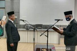 Koorsek Bawaslu HST pindah tugas menjadi Staf Ahli Bupati
