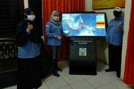 BMKG Deli Serdang pasang WRS di  Asahan