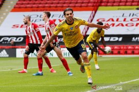 Piala FA: Arsenal vs Sheffield United, gol menit akhir loloskan The Gunners ke semifinal