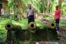 Tiga meriam peninggalan Kerajaan Aceh jadi situs sejarah baru di Aceh Barat