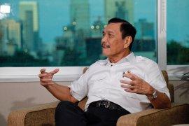 Luhut tanggapi komentar IMF soal rasio utang Indonesia akan 38 persen