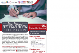 Sertifikasi profesi public relation  era new normal Page 1 Small