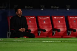 Simeone rindukan penggemar Atletico