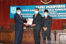 Bupati HSS : Opini WTP hasil kerja keras Pemkab dan kerjasama dengan DPRD