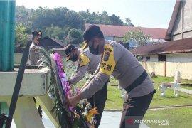 Kapolres Sibolga dan Tapteng ziarah ke TMP dan makam Tuanku Dorong