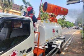 """PMI kerahkan enam unit """"gunner sprayer"""" untuk penyemprotan disinfektan"""