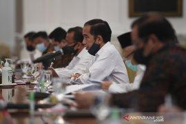 Presiden Jokowi minta kepala daerah percepat pengucuran dana kesehatan dan bansos