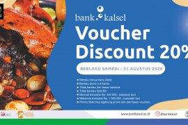 Bank Kalsel manjakan nasabah dengan voucher