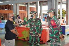 Pangdam XIII/Merdeka tinjau penerapan protokol kesehatan di Gorontalo