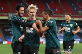 Burnley lanjutkan tren positif dengan tundukkan tuan rumah Crystal Palace