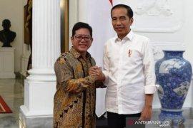 The Jokowi Center dukung Presiden Jokowi ganti menteri di kabinet