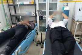 Enam personel polisi  luka-luka dalam kerusuhan di Madina Sumut