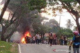 Polisi Madina pastikan tindak tegas pelaku perusakan di Mompang Julu