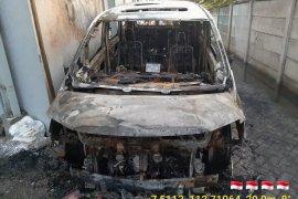 Tersangka pembakar mobil Via Vallen dipindah ke Mapolresta Sidoarjo