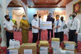 Satgas BUMN salurkan bantuan Rp500 juta untuk Pemkot Bengkulu