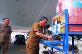 Songsong tatanan normal baru pegawai Pemkab Tapsel wajib gunakan masker