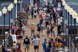 Kasus corona AS naik lebih 48.000, cetak rekor harian baru