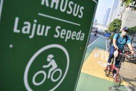 Bersepeda di masa normal baru, sekadar bergaya atau demi cegah corona?