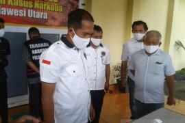 Polda Sulut tangkap anggota DPRD Bolaang Mongondow Utara diduga memiliki sabu-sabu