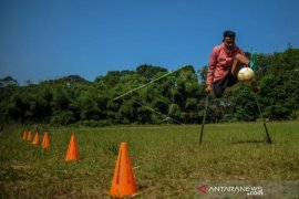 LATIHAN MANDIRI ATLET TIMNAS AMPUTEE FOOTBALL Page 1 Small