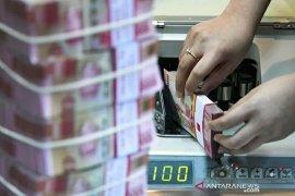 Kurs Rupiah akhir pekan menguat seiring kemajuan paket stimulus AS