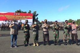 Apel Pengecekan Pasukan Dan Sarpras Penanganan Karhutla di Kalimantan Selatan