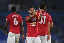 Manchester United bekuk Brighton 3-0, terus mepet posisi empat besar