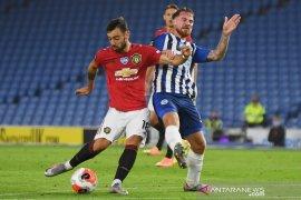 MU dekati empat besar setelah menang 3-0 di Brighton