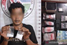 Polres Tanjungbalai tangkap pemilik 32,52 gram sabu