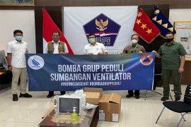 Bomba Group Peduli, Sumbang Ventilator Canggih Khusus Covid-19 Ke Gugus Tugas