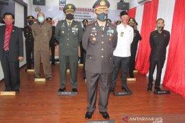 HUT ke-74 Bhayangkara, Polres Taput gelar upacara virtual