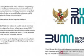 Logo kementerian BUMN berubah, Erick: Ini  jadi semangat baru kita