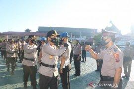 577 personel Polda Kalsel naik pangkat