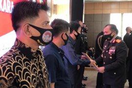 HTT Padang terima penghargaan dari Polda Sumbar aktif bantu kebutuhan Dapur Umum