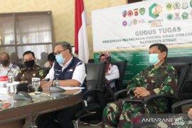 Berstatus zona kuning, Kabupaten Bogor perpanjang PSBB 14 hari