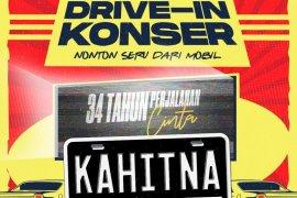 """Grup band Kahitna, artis pertama yang akan tampil di """"Drive-In Konser"""""""