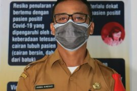 Satu positif COVID-19 warga Simalungun isolasi mandiri di Medan