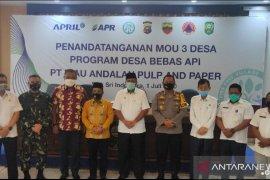 RAPP-Pemkab Siak teken MoU tiga desa bebas api