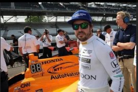 Alonso ungkap mobil baru McLaren untuk Indy 500 dan  incar Triple Crown