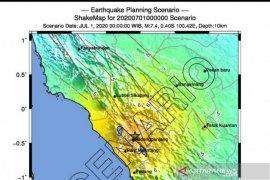 Waspada potensi gempa kuat di Segmen Sianok Sumbar