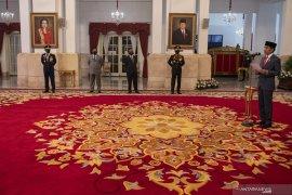 Presiden minta sinergi diperkuat ke Polri, Kejaksaan, KPK, dan lembaga pengawas