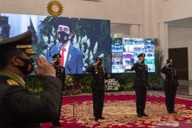 Presiden beri tujuh instruksi sebagai pedoman pelaksanaan tugas Polri