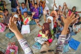 Pengungsi Rohingya akan dipindahkan ke penampungan baru Jumat sore