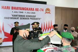 Chek Zainal ikuti HUT Bhayangkara ke-74 di Mapolresta Banda Aceh