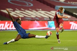 West Ham akhiri tren positif Chelsea