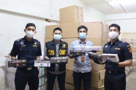 Bea Cukai  Sumut gagalkan panyelundupan 388 kotak rokok ilegal