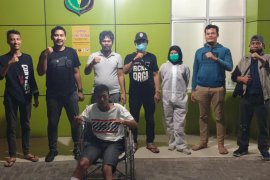 Satreskrim Polrestabes Medan tembak mantan napi pelaku curanmor