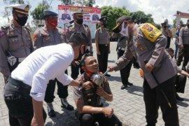 30 personel Polres Simalungun naik pangkat