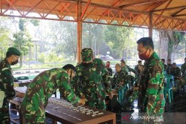 Prajurit Kodim 0114 Aceh Jaya dites urine mendadak, ini hasilnya