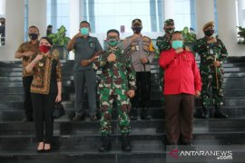 Pangdam Tanjungpura dan Pemkab Landak antisipasi Karhutla